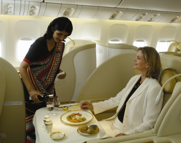 Air India - Not exactly the class of travel I paid for
