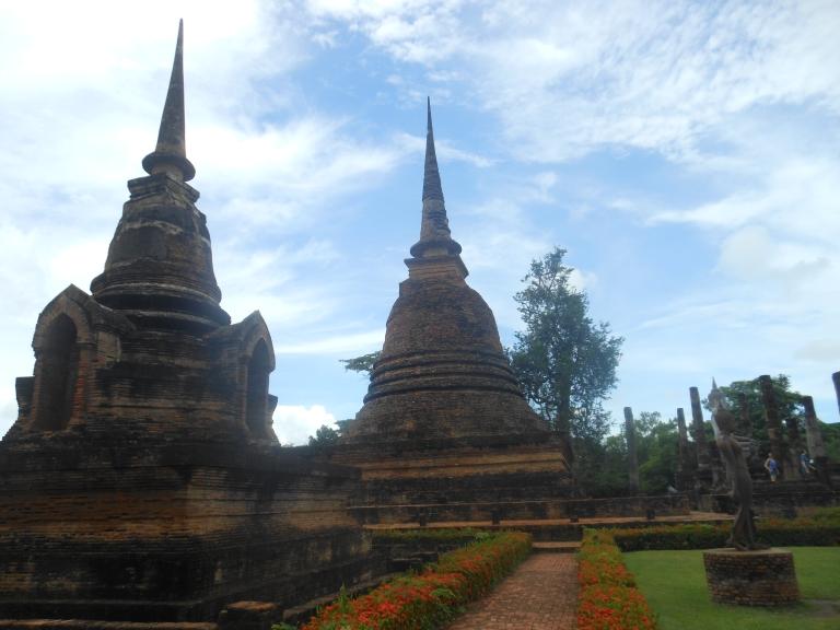 Sukhothai Budda Historical City Thailand