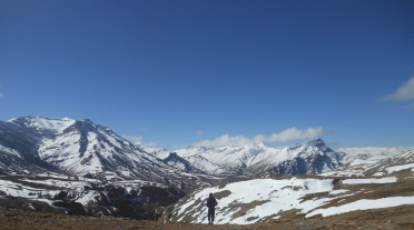 Standing at 18,000ft... in a hoody