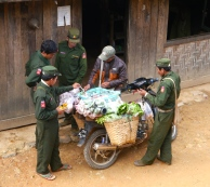 alex king burma myanmar shan state travel traveling travelling southeast asia south east backpacking adventure story rebel army haggle