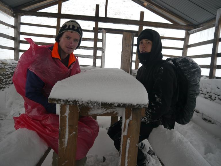 Annapurna Circuit Mountain Trekking Nepal Everest Nangi Village