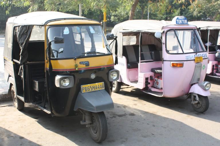 pink rickshaw india chandigarh
