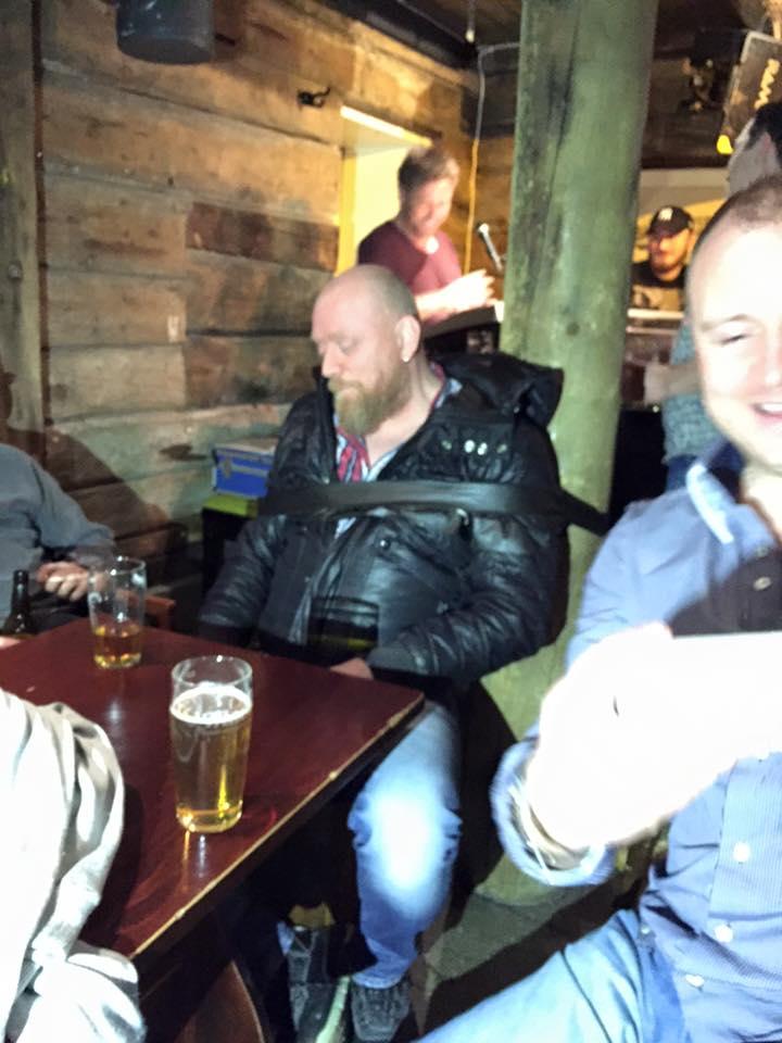 Rorbua Pub in Tromsø, Arctic Norway